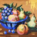 Arnott- Still life Bowl of Fruit painted