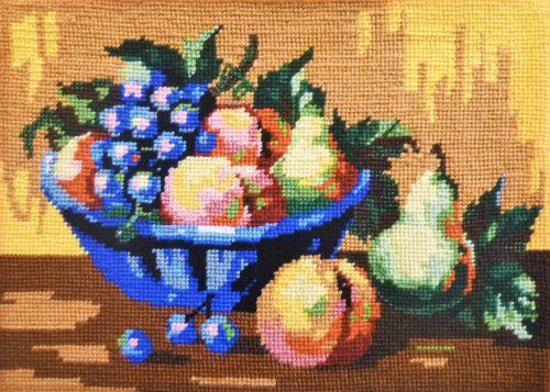Arnott- Still life Bowl of Fruit painted